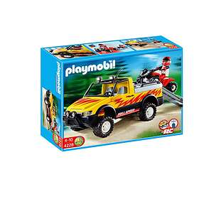 Playmobil Racing 4228 4x4 Pick Up with Quad