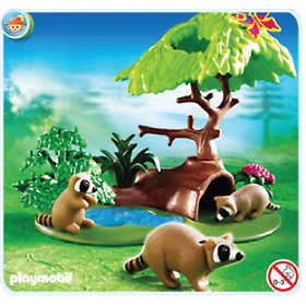 Playmobil Farm 4205 Raccoons