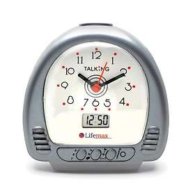 Lifemax Talking Alarm Clock with Hands and LCD