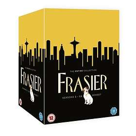 Frasier - Säsong 1-11 Complete Box (44-Disc)