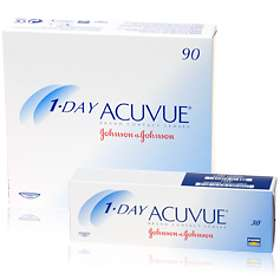 Johnson & Johnson 1-Day Acuvue (90-pack)