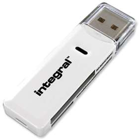 Integral USB 2.0 Dual Slot Card Reader for SDXC