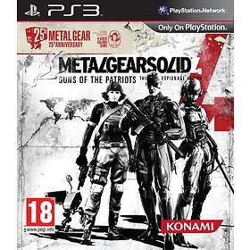 Metal Gear Solid 4 - 25th Anniversary Edition (PS3)