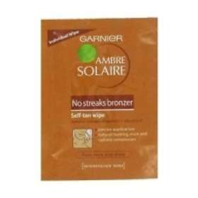 Garnier Ambre Solaire No-Streaks Bronzer Self Tan Body Wipes
