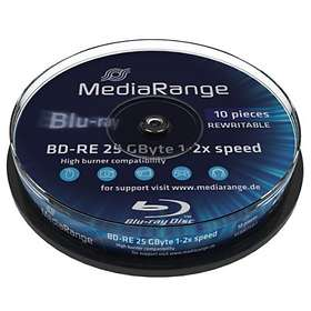 MediaRange BD-RE 25GB 2x 10-pack Cakebox