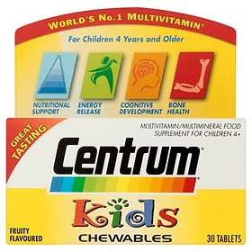 Centrum Kids Chewables 30 Tablets