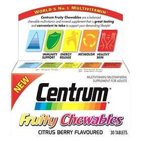 Centrum Fruity Chewables 30 Tablets