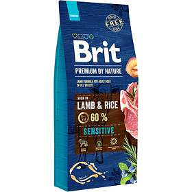 Brit Premium Adult Lamb & Brown Rice 15kg
