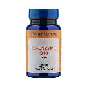 Higher Nature Co-Enzyme Q10 30mg 30 Tablets