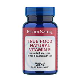 Higher Nature True Food Natural Vitamin E 90 Tabletter