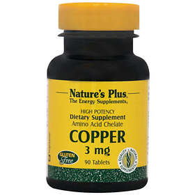 Nature's Plus Copper 3mg 90 Tablets