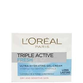 L'Oreal Triple Active Fresh Ultra-Hydrating Gel-Cream Norm/Comb 50ml