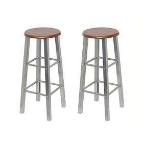 vidaXL Rotterdam Bar Stool (2-pack)