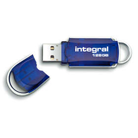Integral USB Courier 128Go
