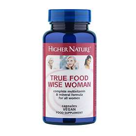 Higher Nature True Food Wise Woman 180 Capsules