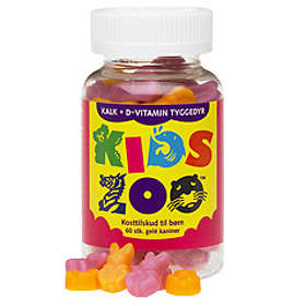 Acrilex Kids Zoo Kalcium + Vitamin D 60 Tablets
