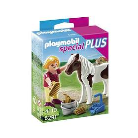 Playmobil Special Plus 5291 Girl with Pony