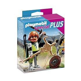 Playmobil Special Plus 5293 Celtic Warrior with Campfire