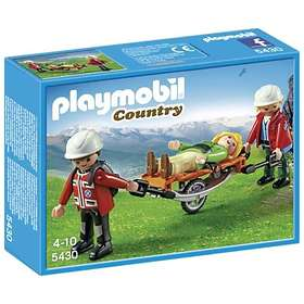 Playmobil Mountain Life 5430 Mountain Rescuers with Stretcher