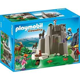 Playmobil Mountain Life 5423 Rock Climbers with Mountain Animals
