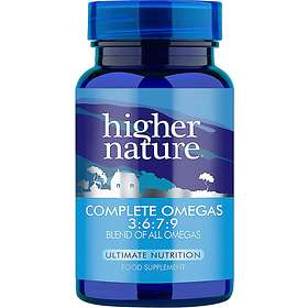 Higher Nature Essential Omegas 3:6:7:9 90 Capsules