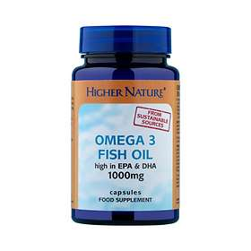 Higher Nature Fish Oil Omega 3 1000mg 30 Capsules