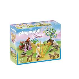 Playmobil Fairies 5451 Music Fairy with Woodland Creatures