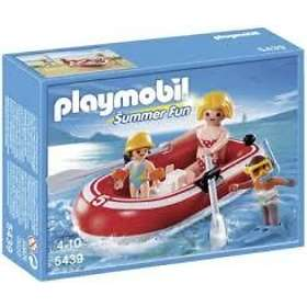 Playmobil Vacation 5439 Swimmers with Raft