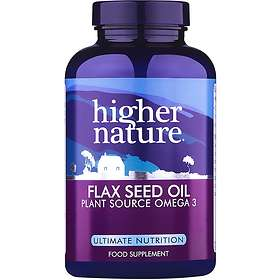 Higher Nature Omega Excellence Flax Seed Oil 1000mg 60 Capsules