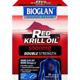 Bioglan Red Krill Oil Double Strength 1000mg 30 Capsules
