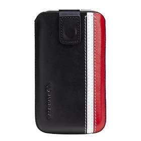 Case-Mate Signature Leather Racing Stripe Pouch for iPhone 4/4S