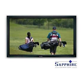 "Sapphire AV Fixed Frame Front Projection Matt White 16:9 121"" (266x150)"