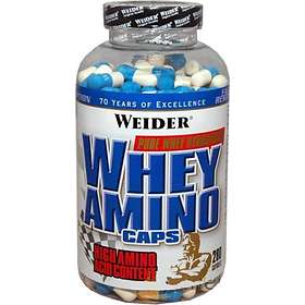 Weider Nutrition Whey Aminos 280 Capsules
