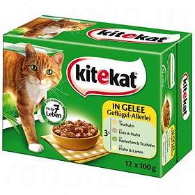 KiteKat Pouches Multipack Jelly 12x0,1kg