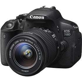 Canon EOS 700D + 18-55/3.5-5.6 IS STM