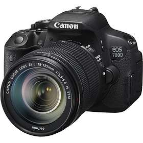 Canon EOS 700D + 18-135/3.5-5.6 IS STM