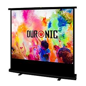 """Duronic Portable Freestanding FPS100 4:3 100"""" (203x152)"""