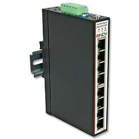 Lindy 8 Port Industrial Switch (25070)