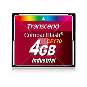 Transcend Industrial Compact Flash CF170 4GB