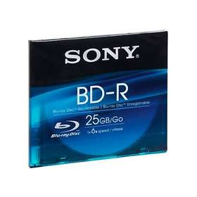 Sony BD-R 25GB 6x 1-pack Slim Case
