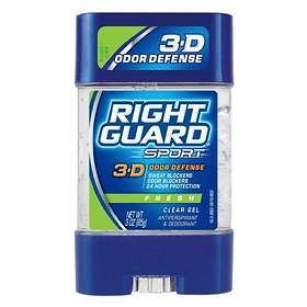 Right Guard Sport 3-D Odor Defense Fresh Clear Gel 85g