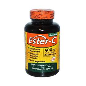 American Health Ester-C 500mg with Citrus Bioflavonoids 225 Tablets