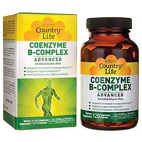 Country Life Gluten Free Coenzyme B-Complex 120 Capsules