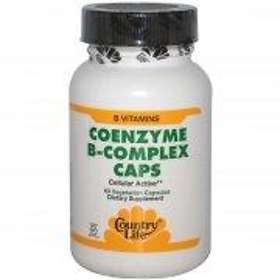 Country Life Gluten Free Coenzyme B-Complex 60 Capsules