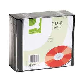 Q-Connect CD-R 700MB 52x 10-pack Slimcase