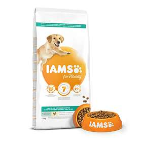 Iams for Vitality Dog Light in Fat 1+ Years 12kg