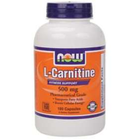 Now Foods L-Carnitine 500mg 60 Tablets