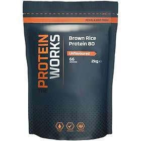 The Protein Works Brown Rice Protein 80 1kg