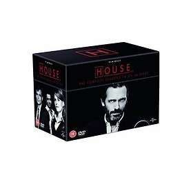House - Sesong 1-8 Box