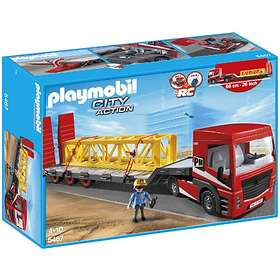 Playmobil City Action 5467 Heavy Duty Flatbed Trailer